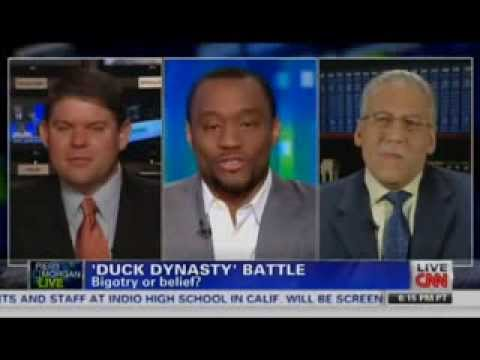Dr Brown on Piers Morgan with Ben Ferguson and Marc Lamont Hill
