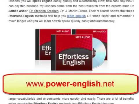 Effortless English Listening Mp3 Lessons