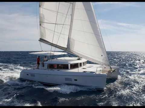 Charter catamaran Lagoon 420 in Greece.wmv