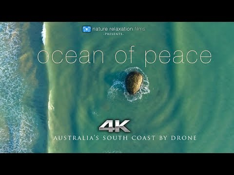 OCEAN OF PEACE (4K) Ambient Drone Film: Australia's South Coast 7 Min Nature Relaxation™ Short