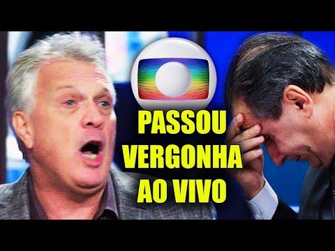 INACREDITÁVEL Pedro Bial tenta Desafiar a DEUS na Globo e Passa Vergonha Ao Vivo na TV