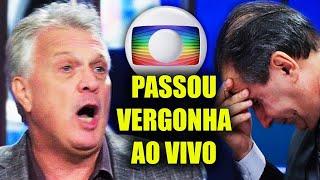 INACREDITÁVEL! Pedro Bial tenta Desafiar a DEUS na Globo e Passa Vergonha Ao Vivo na TV