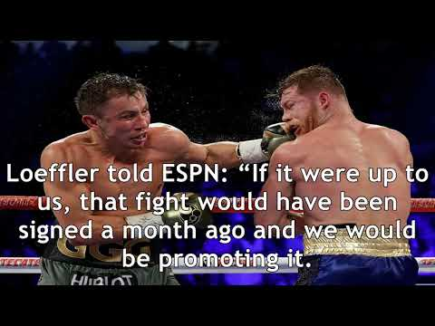 Canelo is delaying gennady golovkin may 5 rematch according to team ggg