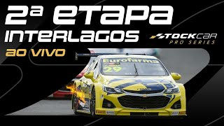 STOCK CAR 2021 AO VIVO | 2ª ETAPA - INTERLAGOS