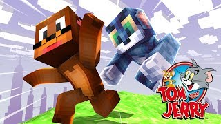 Minecraft: PARKOUR PVP - TOM E JERRY!