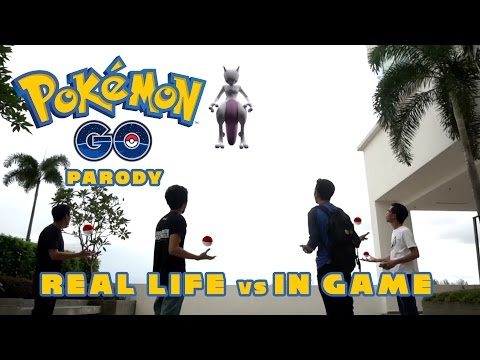 Pokemon Go Parody - Real Life vs. In Game [Paradox Saga]