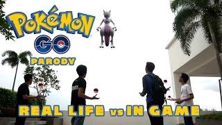 pokemon go parody real life vs in game paradox saga