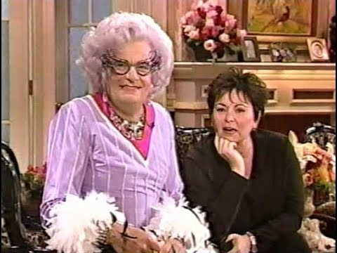 The Roseanne Show (1998) #10 with Dame Edna Everage