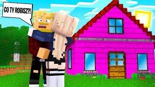 PSYCHOFANKA WPROWADZIŁA SIĘ DO MOJEGO DOMU! l Minecraft BlockBurg