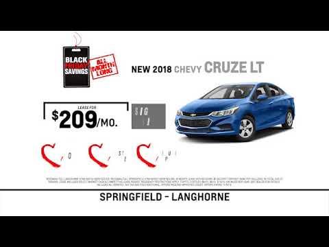 Reedman Toll Auto Group Chevrolet November 2018 Specials