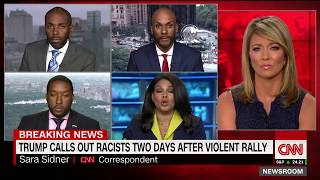 CNN Charlottesville panel erupts: I won