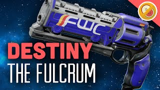 "DESTINY The Fulcrum ""Mini Hawkmoon"" Full Upgraded Legendary Review"