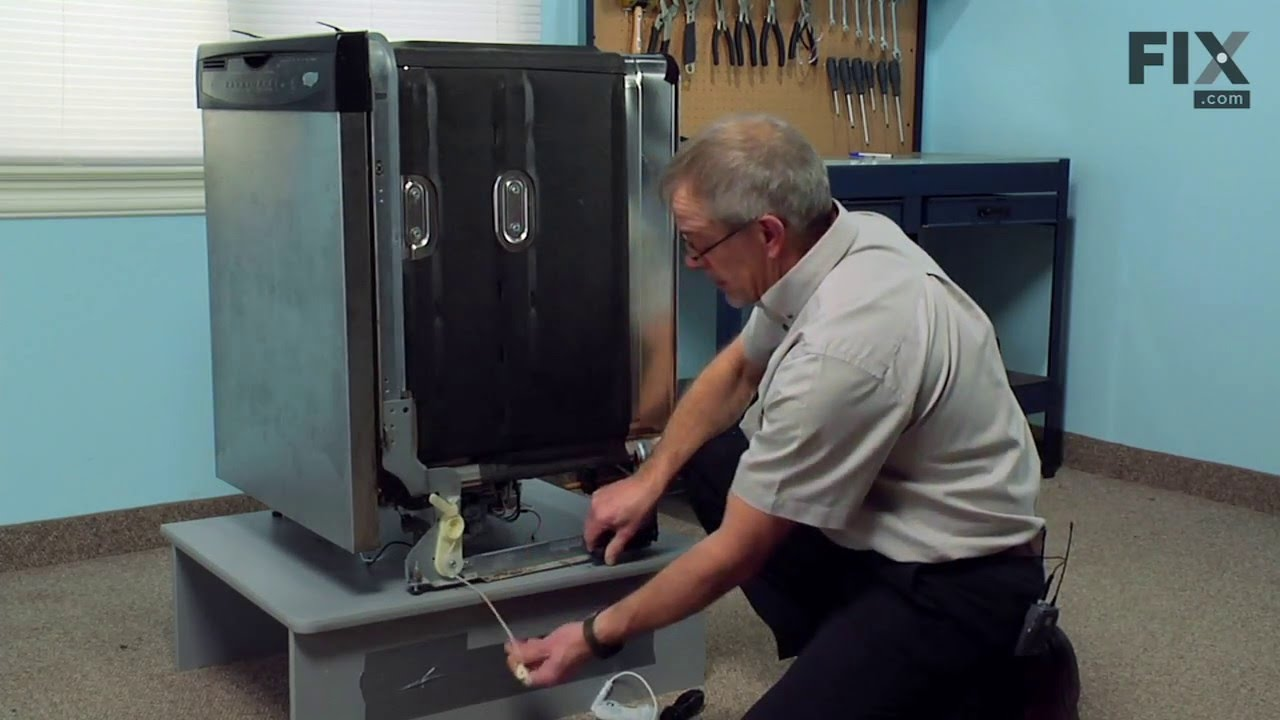 Kitchenaid Dishwasher Repair How To Replace The Door Balance Link Kit