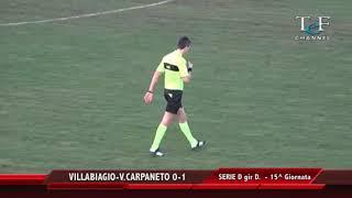 Serie D Girone D Villabiagio-Vigor Carpaneto 0-1