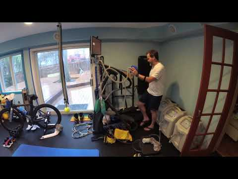 Rest Day Overview before Hypoxic Elliptical workout