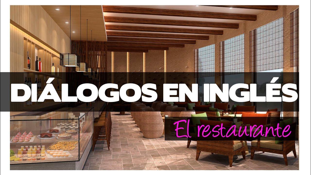 Diálogos en inglés - el restaurante - YouTube