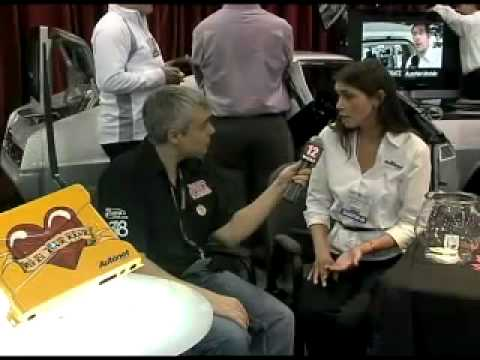 Autonet booth SEMA 2008 with 12 Volt News