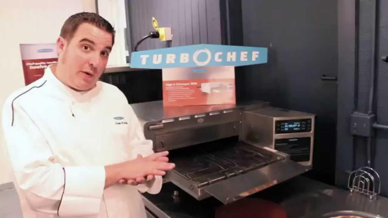 Nicholas And Company Turbo Chef Conveyor Oven Youtube