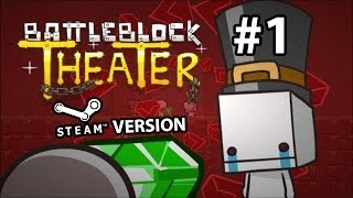 Battleblock Theater STEAM VERSION CO-OP w/Bani #1 GAMEPLAY PLAYTHROUGH WALKTHROUGH PC XBOX360