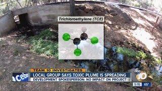 Environmental group says toxic plume in Escondido has spread