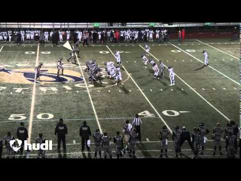 Bradley Pelkey #11 Fort Collins High School Wide Receiver Mid Season Fall 2014