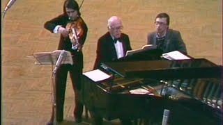Yuri Bashmet & Sviatoslav Richter play Hindemith Viola Sonata, op. 11 no. 4 - video 1985