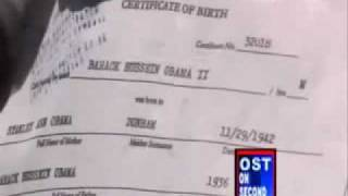 Barack H Obama Born in Kenya The REAL Birth Certificate !