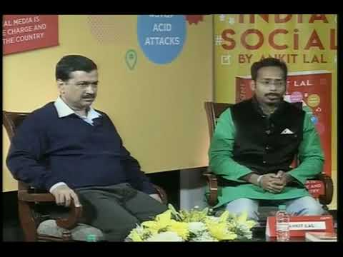 Launch of Book India Social By  Ankit Lal at  Constitutional Club Delhi Today
