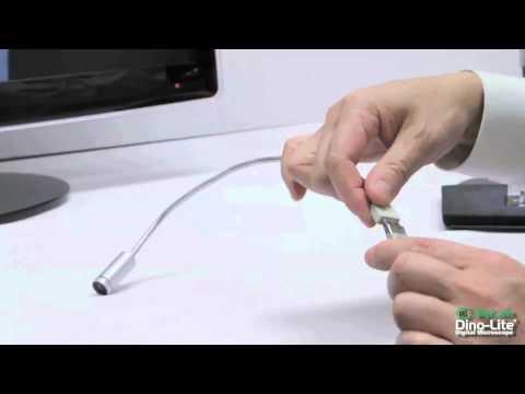 Dino-Lite MSSL-ZW1 Polarized USB powered LED light