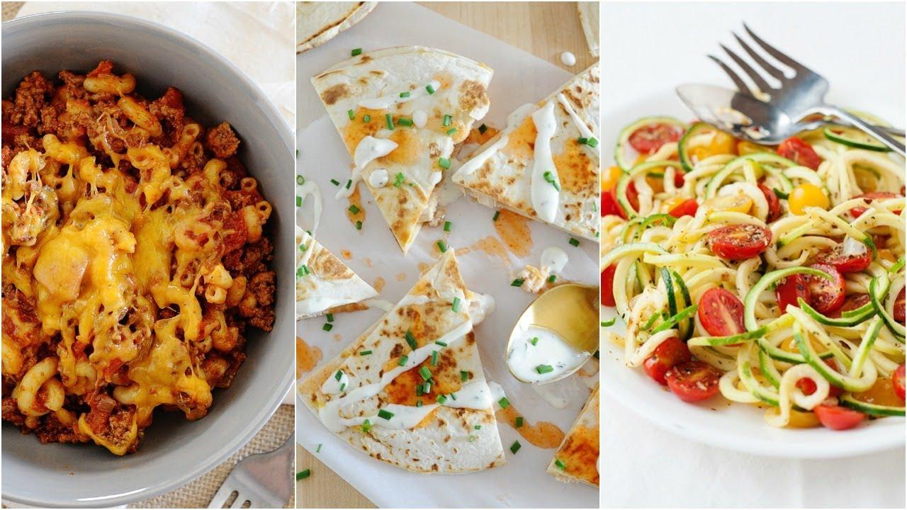 Easy Dinner Ideas For Tonight Family Dinner Recipes Youtube
