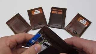 The best front pocket / slimline / minimalist wallet ever made.