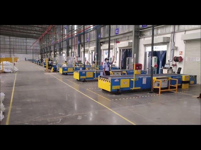 Loading & Unloading Automation - Bulk Telescopic Belt Conveyors Supplied to a E-commerce Company