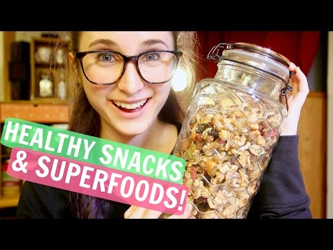 Healthy Trail Mix Recipe | VEGAN, GLUTEN FREE, DAIRY FREE | Make Snacks With Marisa