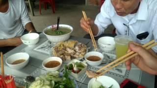 0214 Về thăm Quảng Nam : Ghé Đại Lộc Cảnh đẹp Cháo Vịt ký con( thật ngon tuy ruồi nhiều)