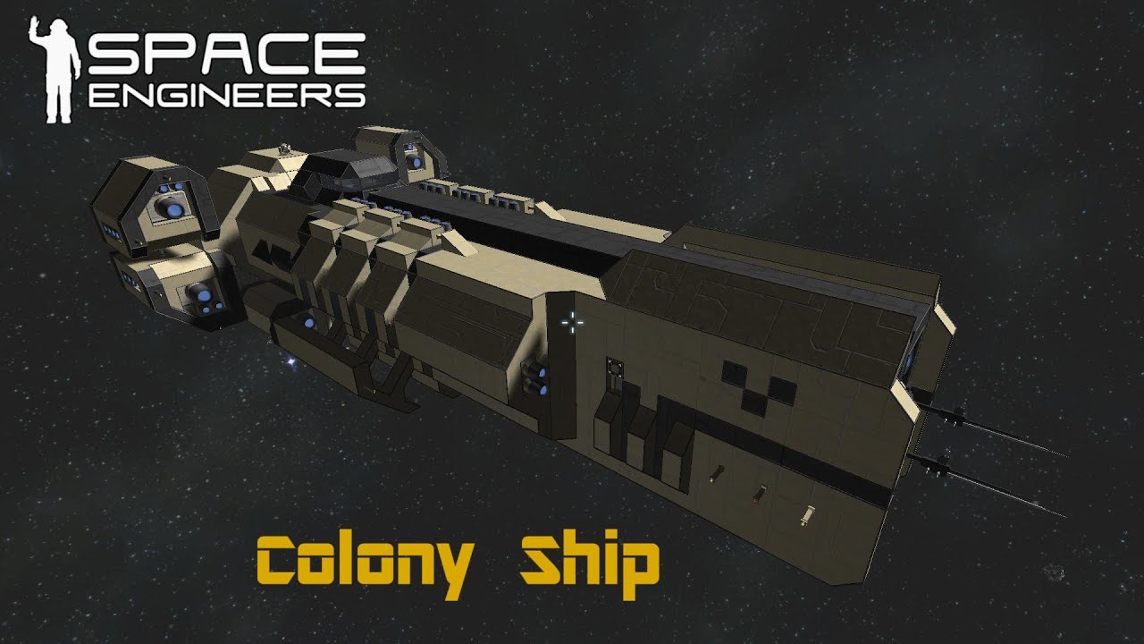 space engineers how to build a ship