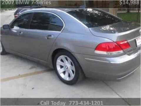 2007 BMW 7Series Used Cars Chicago IL  YouTube