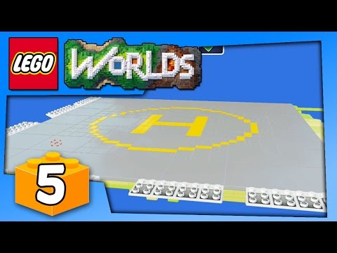 Lego Worlds Gameplay - COPY PASTE YOUR CUSTOM LEGO BUILD - PC Walkthrough Part 5 | Pungence