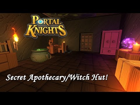 Secret Apothecary/Witch Hut! - Let's Play Portal Knights 1.2.2 | E34