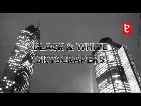 Black & White Skyscrapers Mexico City | www.edemx.com
