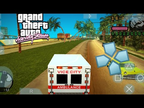 GTA Vice City Stories Best Settings & Gameplay PPSSPP ANDROID