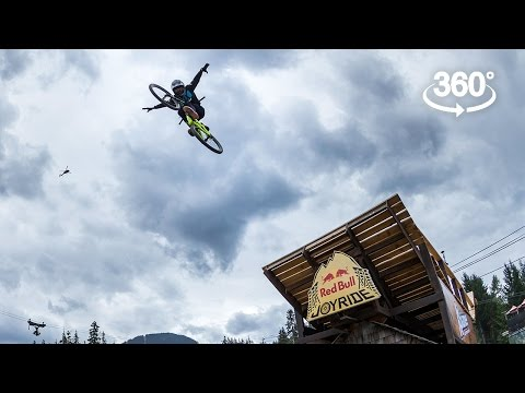 Going BIG at Joyride: 360° Highlights Red Bull bike video