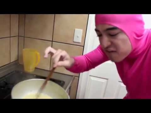PINK GUY COOKS RAMEN AND RAPS