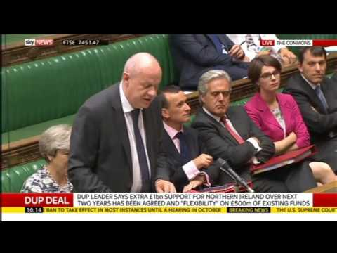 Tories announce bung to the DUP: Damian Green vs Emily Thornberry