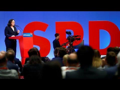 euronews (in Italiano): Andrea Nahles, l'Spd riparte dalla solidarietà
