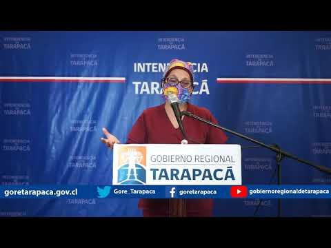 Punto de prensa 12 de agosto de 2020 - Gobierno Regional de Tarapacá
