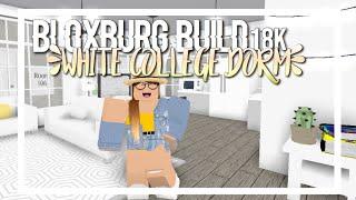 ROBLOX | White College Dorm // Bloxburg