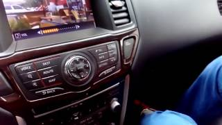 Nissan Pathfinder (2010-16) - дублирование видео/аудио с телефона, USb, зеркало с регистратором