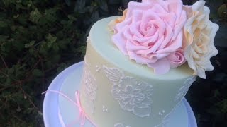 How to make a Sugar Rose by Let's Eat Cake
