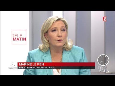 Les 4 vérités - Marine Le Pen - 2016/04/25
