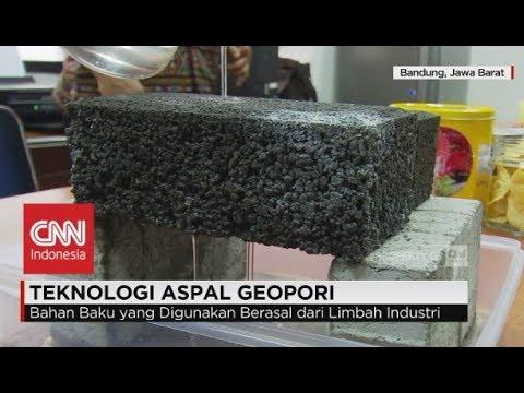 Melihat Inovasi Teknologi Aspal Geopori Karya Ilmuwan ITB